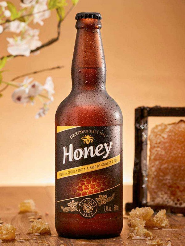 Cerveja Honey 500ml Hemmer