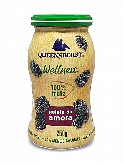 Geleia de Amora 100% Fruta 250g Queensberry