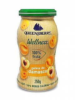 Geleia de Damasco 100% Fruta 250g Queensberry
