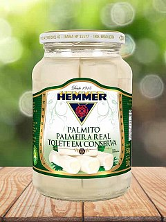 Palmito Palmeira Real Tolete 300g Hemmer