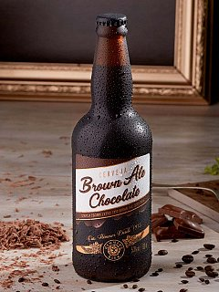 Cerveja Brown Ale Chocolate 500ml Hemmer