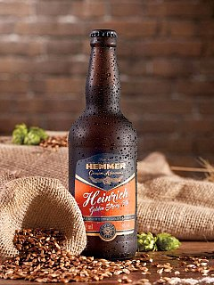 Cerveja Heinrich Golden Strong Ale - 500ml