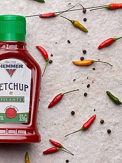 Ketchup Picante 320g Hemmer